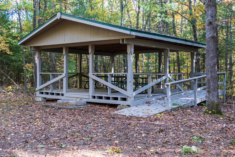 Sager Conservation Area - picnic tables
