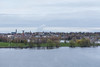 Belleville from the bridge. East Zwicks Park in foreground.