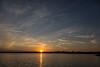 Sunset over Belleville view from Rednersville