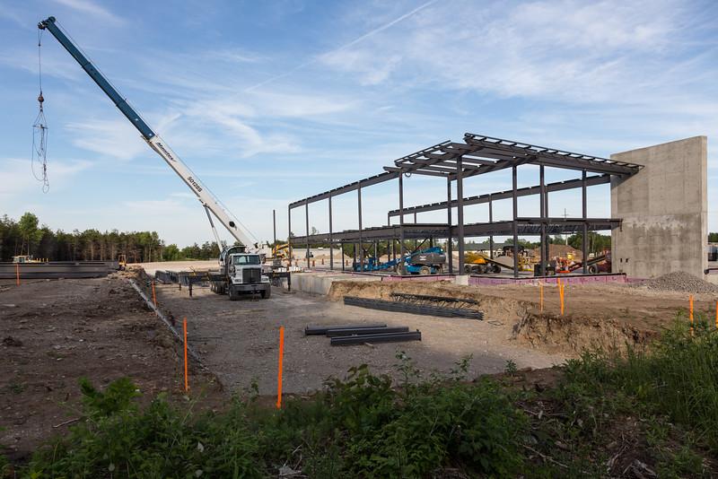 Shorelines Casino Belleville under construction.
