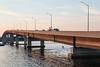 Norris Whitney Bridge at sunset