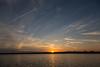 Sunset over Belleville view from Rednersville.