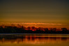 Sunrise from Herchimer boat launch in Belleville on the Bay of Quinte. HDR efx dark.