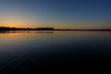 Almost sunset down the Bay of Quinte.