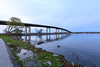 Norris Whitney Bridge and path along the Bay of Quinte.