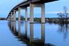 Norris Whitney Bridge at sunrise.