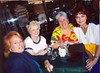 Jan Tate, Jill Enghusen, Vicky Kirkpatrick, Pat Harrison at the 20th Year reunion.
