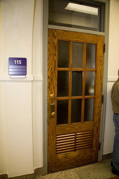 The original doors remain.
