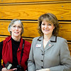 Susan with Principal Laurie Hanna