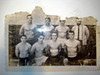 This 1963 photo is of seven BHS wrestlers who qualified for state.  Back row left to right,Bill Hegberg,Rick Thomaseck,Steve Christensen,Coach Hazelip.  Front row Bruce Jones,Dale Simmonds,Jim Cramer,Otto Halgren.  Bill Hegberg is the wrestler who moved to Vail, Co to sell real estate. Rick T, Bruce J,and Steve C. are Class of 63, The rest are Class of 64.  If anyone has a clearer copy of this, please send it.