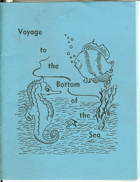 Voyage to the Bottom of the Sea. Prom program.
