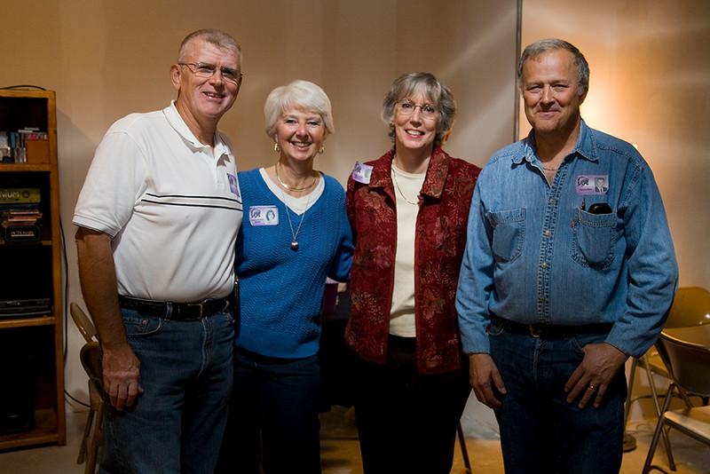 Bill and Sandy (Manzel)Albers, Susan Daniel, Harvey Marx