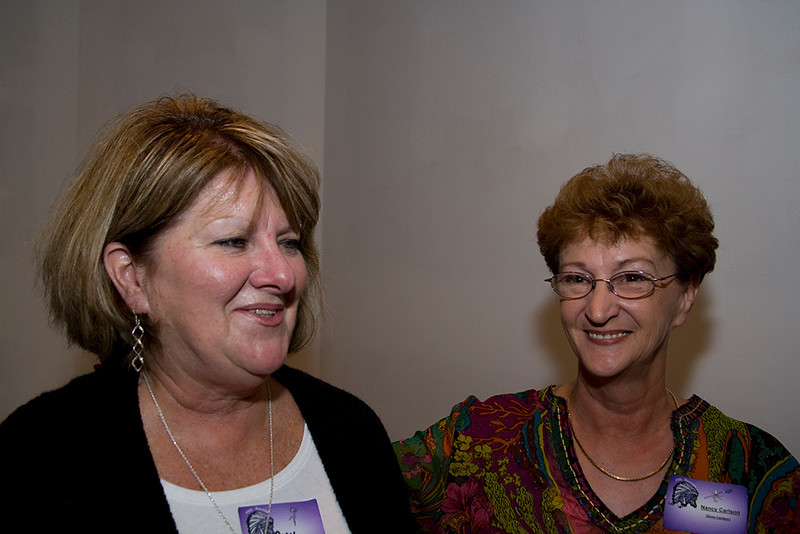 Carol Ratcliff(her husband made the great barbecue) and Nancy Carlson