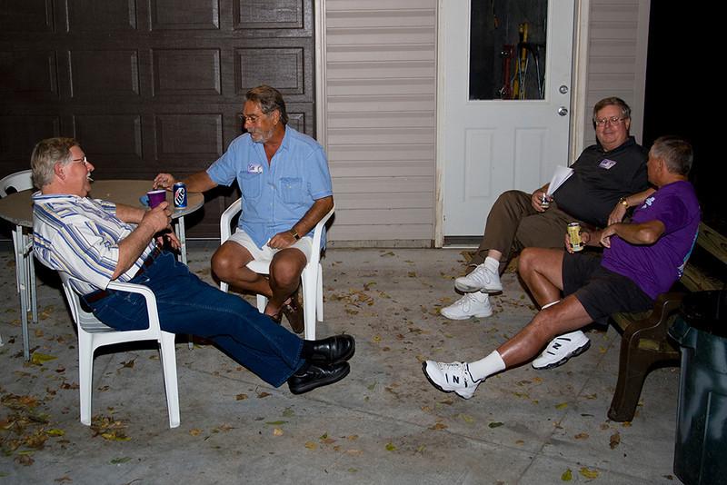 Rick Tomasek, Bob O'Brien, Dennis Gleeson, Larry Sage.