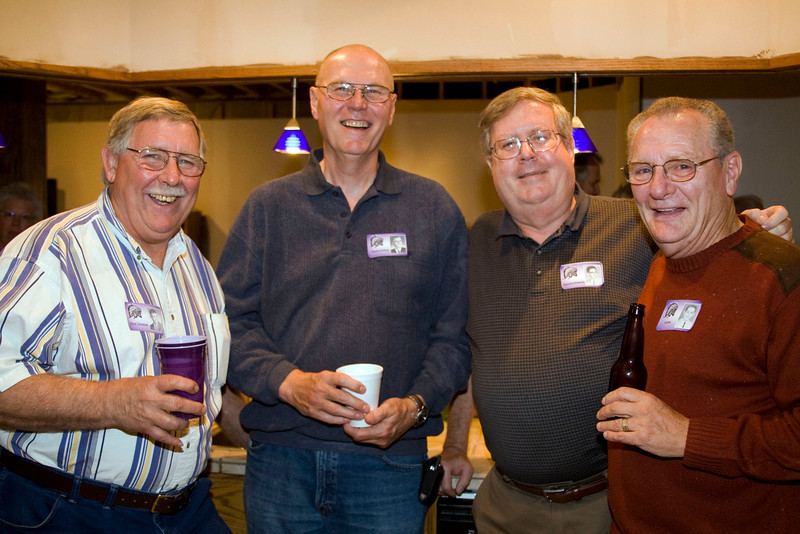 Rick Tomasek, Dave Carlson, Dennis Gleeson, Jim Butts