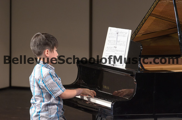 Bellevue School of Music Student Performing