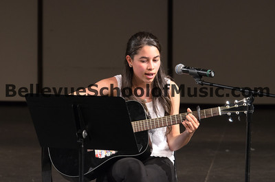 Bellevue School of Music Student Performing