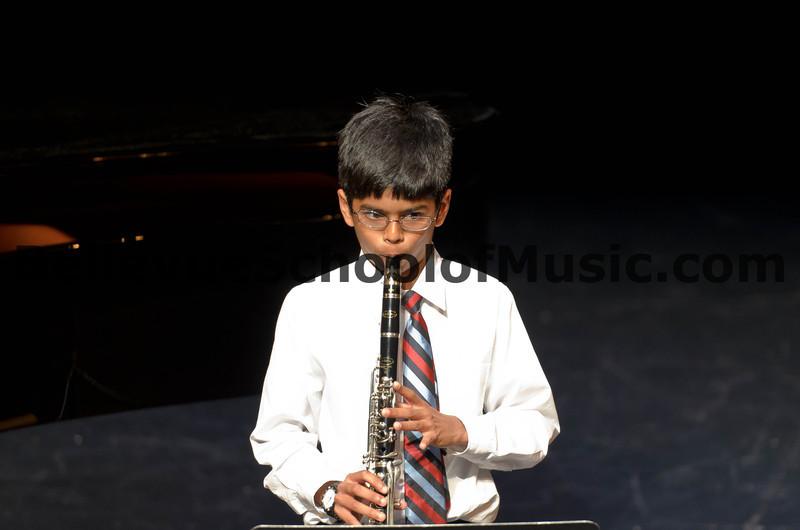 Clarinet Student Bellevue School of Music Spring Recital 2012