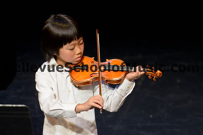 Violin Student Bellevue School of Music Spring Recital 2012