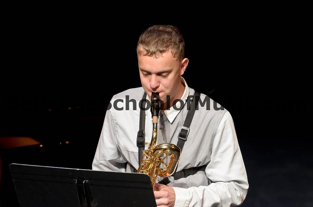 Benjamin Zobel Baritone Saxophone Bellevue School of Music Spring Recital