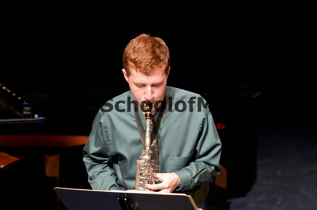 Andrew Nelson Alto Saxophone Bellevue School of Music Spring Recital 2012