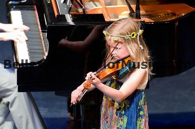 Violin Student Bellevue School of Music Spring Recital 2012