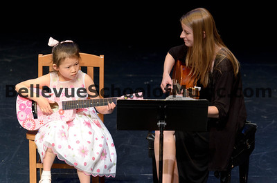 Guitar Student Bellevue School of Music Spring Recital