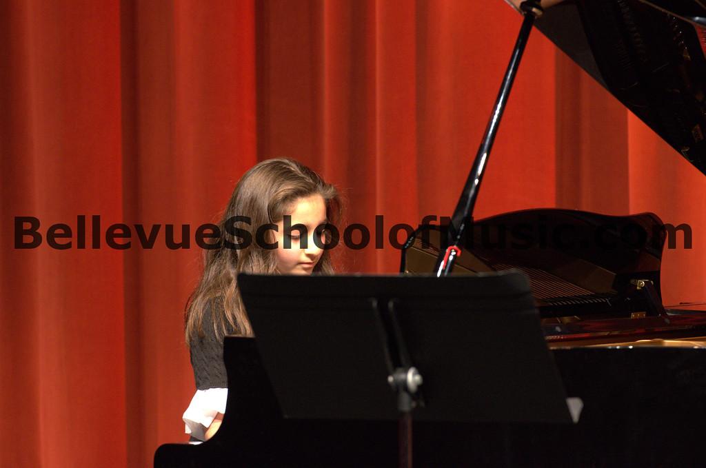 Bellevue School of Music Fall Recital 2012-23