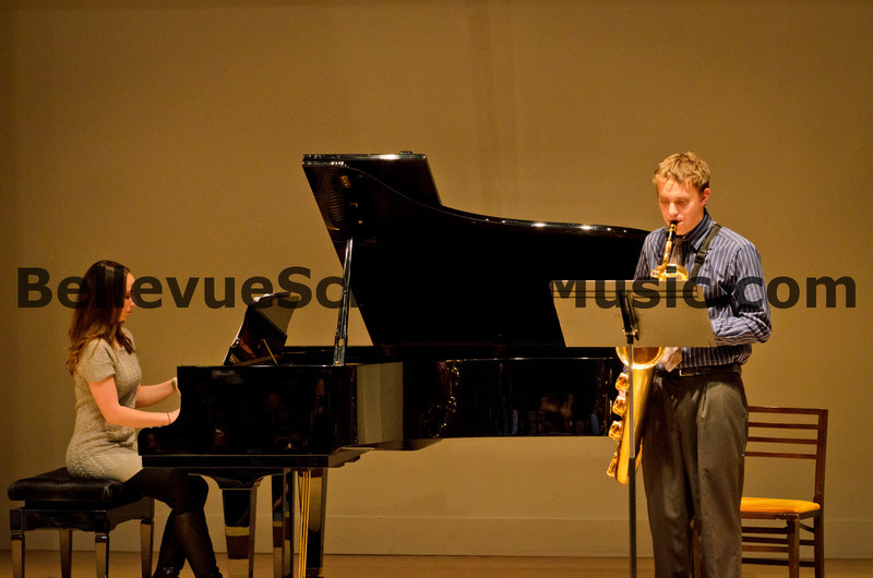 Baritone Saxophone Solo Bellevue School of Music, Fall Recital 2011