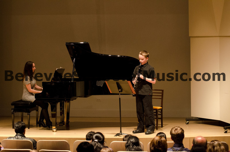 Clarinet Solo Bellevue School of Music, Fall Recital 2011