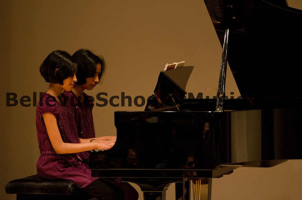 Piano Duet Bellevue School of Music, Fall Recital 2011
