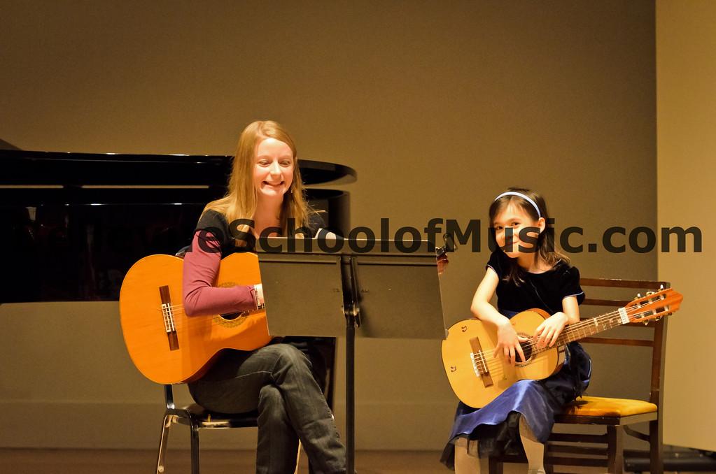 Guitar Duet Bellevue School of Music, Fall Recital 2011