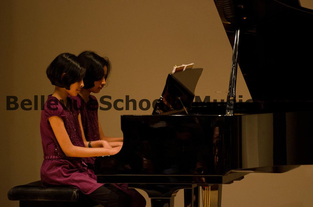 Piano Duet Bellevue School of Music, Fall Recital 2011