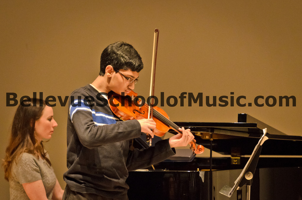 Violin Solo Bellevue School of Music, Fall Recital 2011