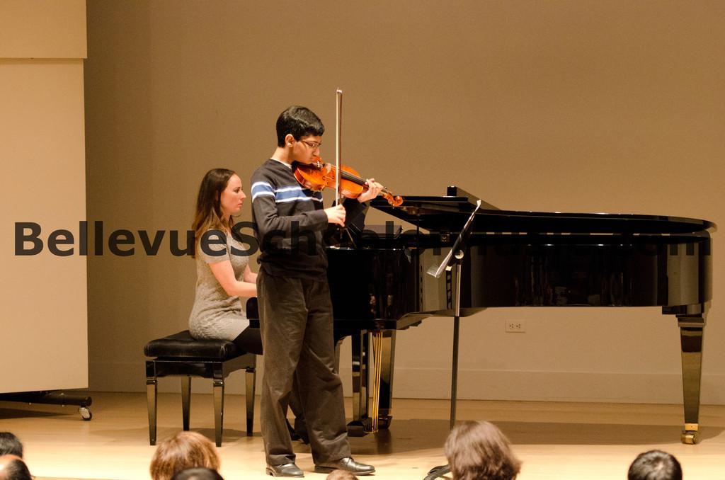 Violin Solo Bellevue School of Music, Fall Recital 2011