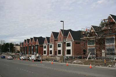 1200 Bellevue Way - Brick Row Homes in Downtown Bellevue.1200 Bellevue Way - at the corner of Bellevue Way and NE 12th.