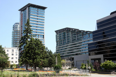 Ashwood II - Also referred to as Ashwood Commons II, 22 story apartment building in Downtown Bellevue.909 112th Ave NE - located on 112th Ave between NE 8th and NE 10th in Downtown Bellevue.