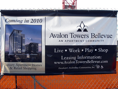 Avalon Towers Bellevue (also known as Avalon at NE 10th) - Avalon Bay Communities high rise mixed-use apartment complex in Downtown Bellevue.939 Bellevue Way NE / 10349 NE 10th