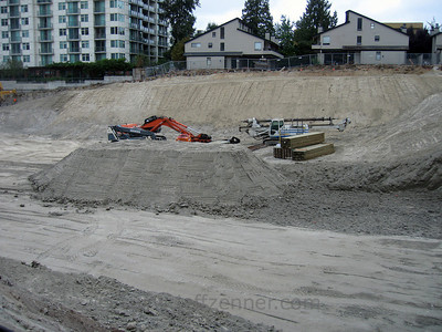 BRE - Belcarra Apartments - By BRE Properties.  Construction in Downtown Bellevue.1032 106th Ave NE - at the corner of 108th & NE 10th