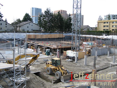 The Bellettini - Construction of The Bellettini, a senior community in Downtown Bellevue.1115 108th Ave NE at the corner of NE 12th & 108th Ave