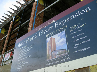 Bellevue Place Hyatt Hotel Expansion - Part of the Bellevue Collection including Bellevue Square, Bellevue Place, and Lincoln Square.10500 NE 8th St - from NE 8th to NE 10th on Bellevue Way