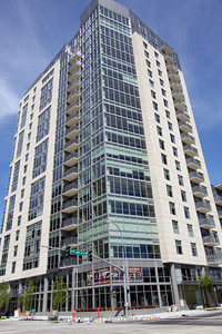 The Ashton Bellevue - Also known as VUE Hanover, 20 Story Apartment Highrise in Downtown Bellevue.1019 108th Ave NE - at the corner of 110th & NE 10th