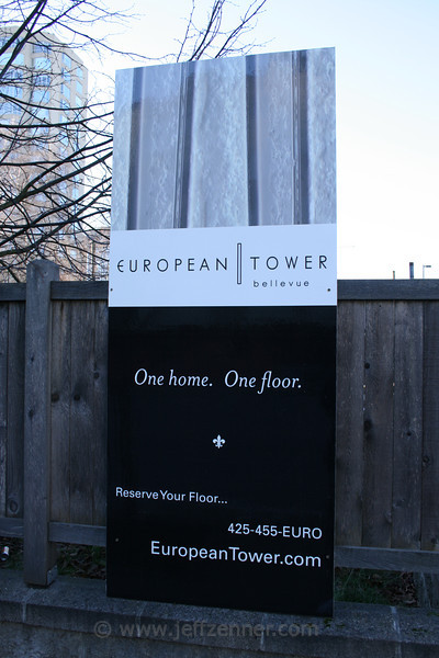 European Tower in downtown Bellevue.