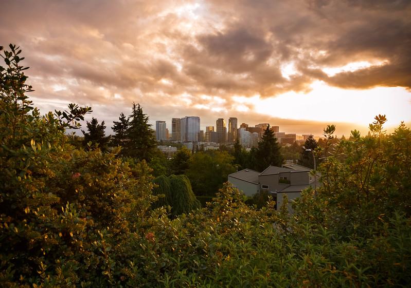 Bellevue Sunrise in July