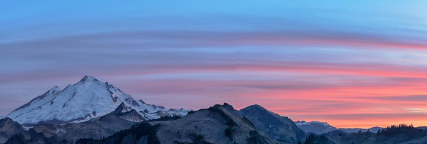 Mt Baker twilight
