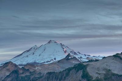 Mt Baker twilight