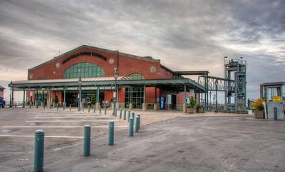Belllingham's Alaska ferry terminal.