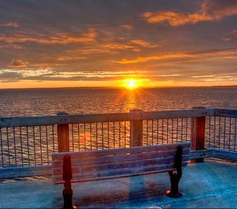 bay-sunset-bench