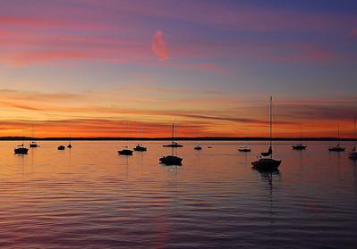 sail-boats-sunset
