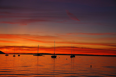 bellingham-bay-boats-sunset